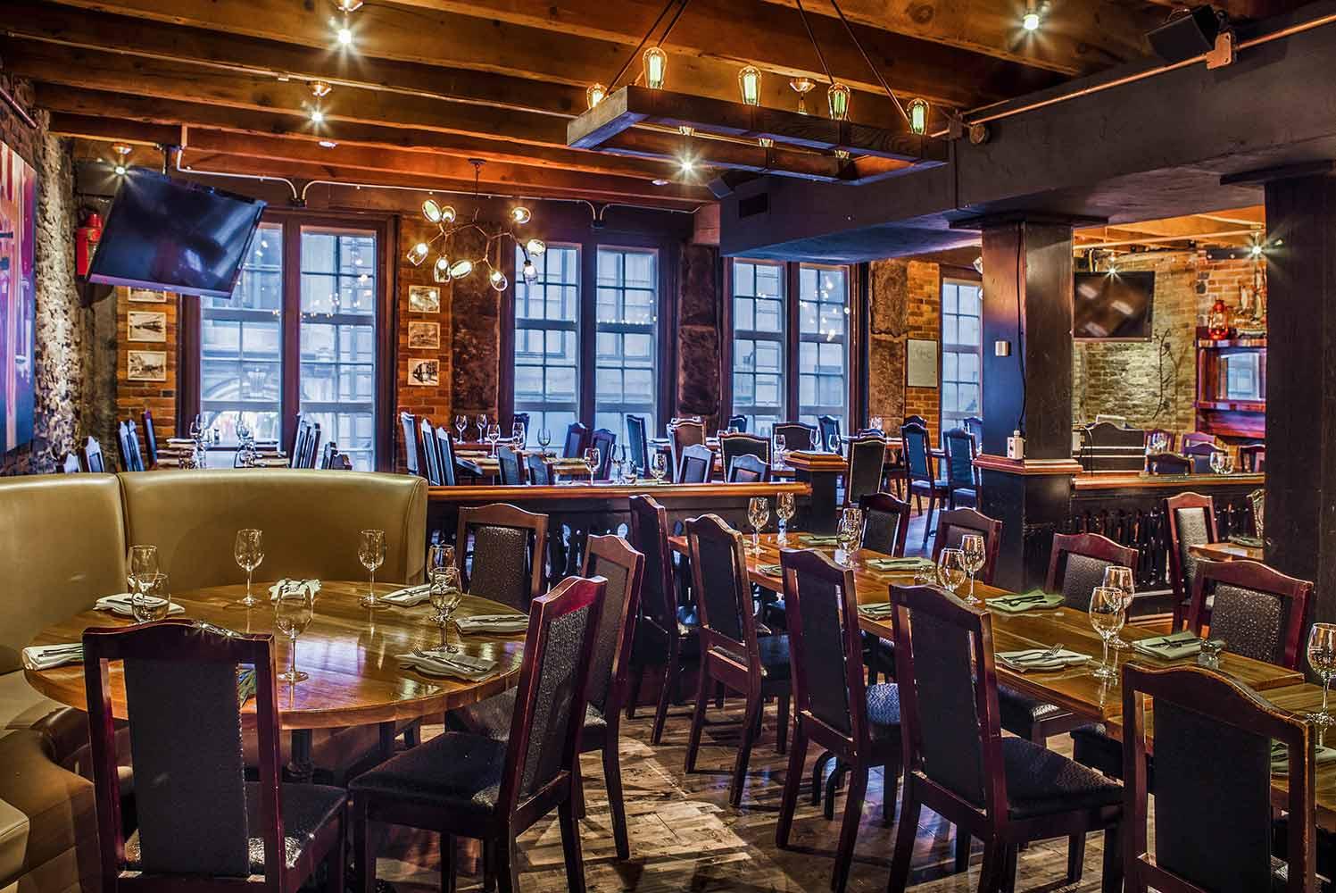 Vieux port steakhouse - Auberge du vieux port restaurant menu ...