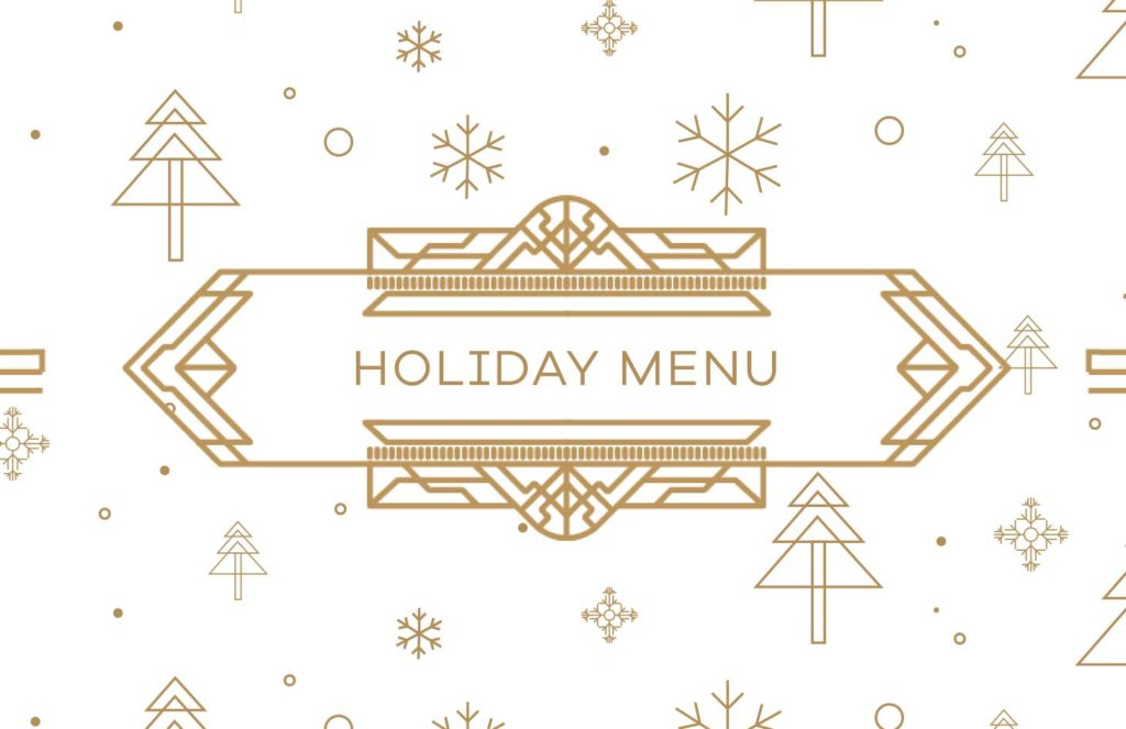 Brasserie 701 - Holiday Menu