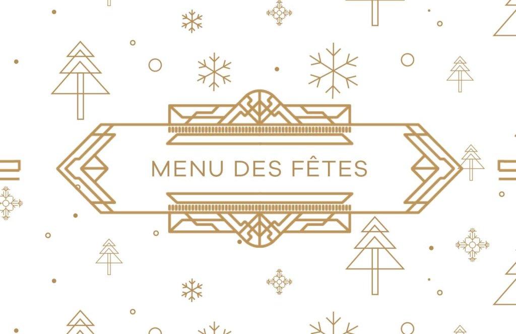 Brasserie 701 - Menu des fêtes