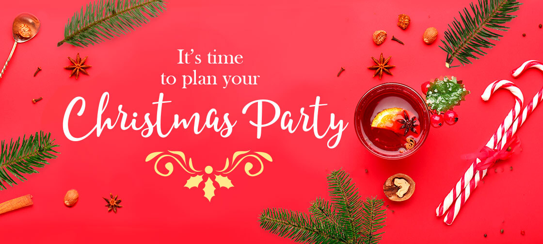 It's time to plan your Christmas Party