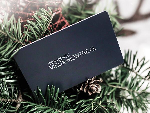 Carte cadeau Expérience Vieux-Montréal